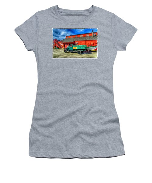 Shipyard Work Truck Women's T-Shirt (Athletic Fit)