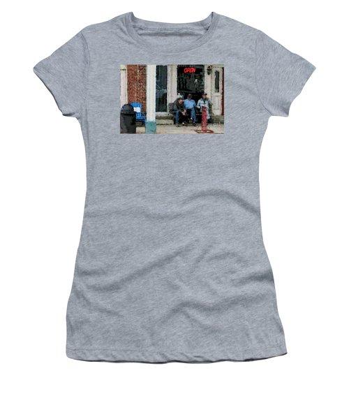 Shooting The Breeze Women's T-Shirt