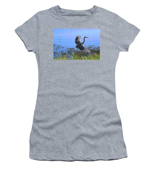 Shore Walk  Women's T-Shirt (Athletic Fit)