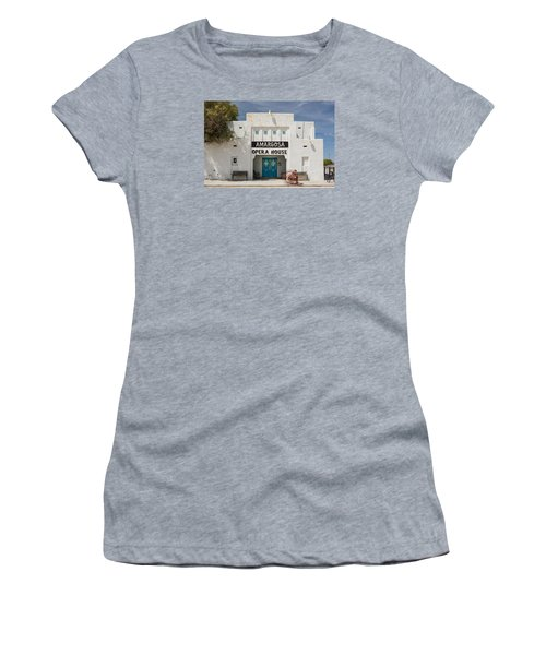 Show Tonight Amargosa Opera House Women's T-Shirt (Athletic Fit)