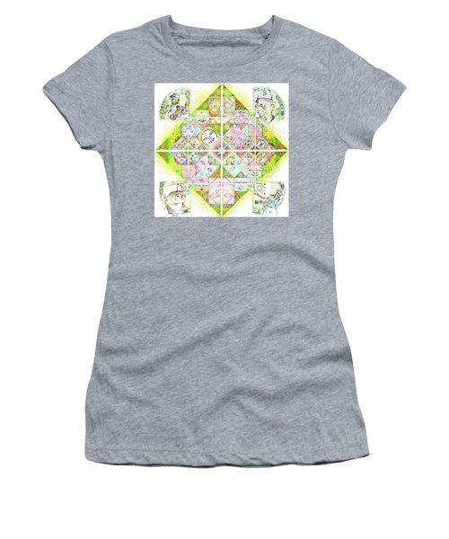 Sierpinski's Baseball Diamond Women's T-Shirt