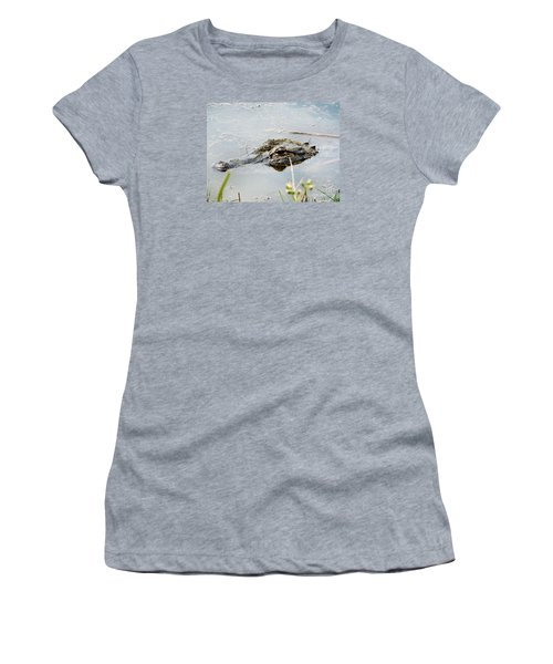 Silent Predator Women's T-Shirt (Athletic Fit)
