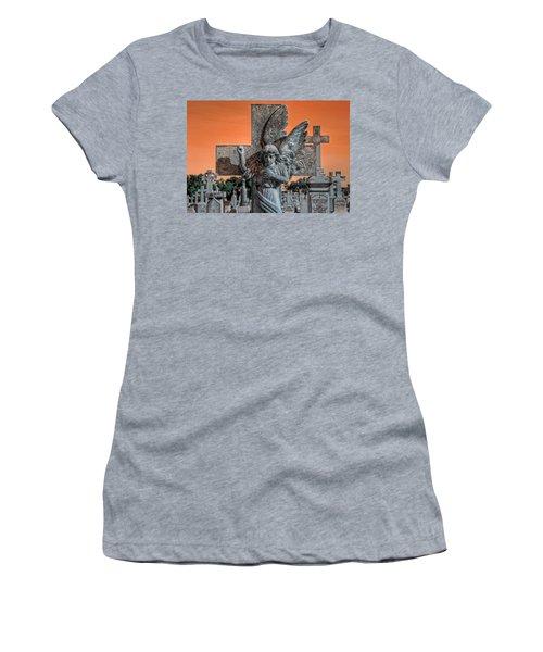 Silent Vigil Women's T-Shirt (Athletic Fit)