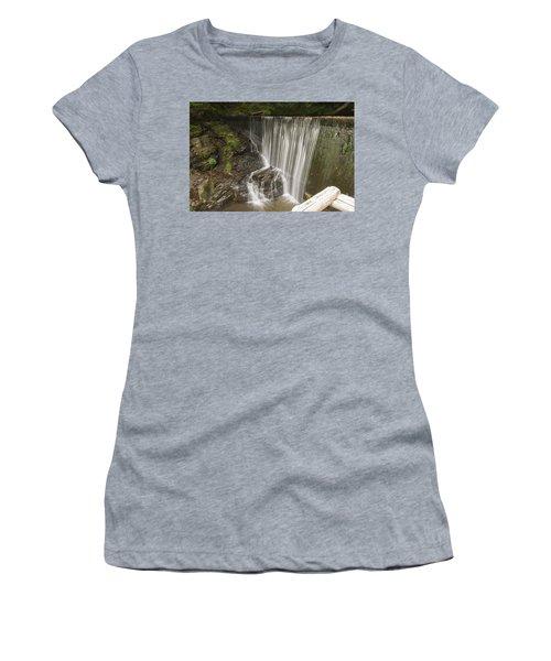 Silk Cascade Women's T-Shirt (Athletic Fit)