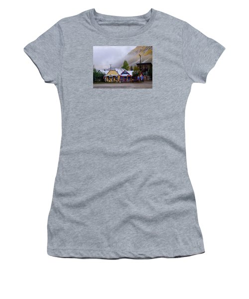 Silverton Back Street Women's T-Shirt (Junior Cut) by Laura Ragland