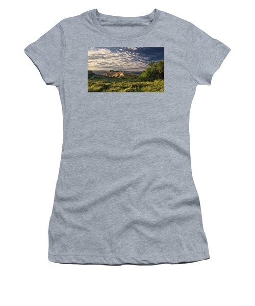 Simi Valley Overlook Women's T-Shirt (Junior Cut) by Endre Balogh