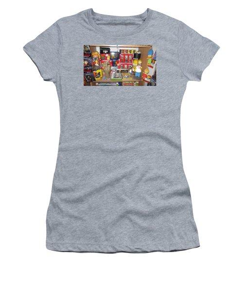 Simpsons Women's T-Shirt (Athletic Fit)