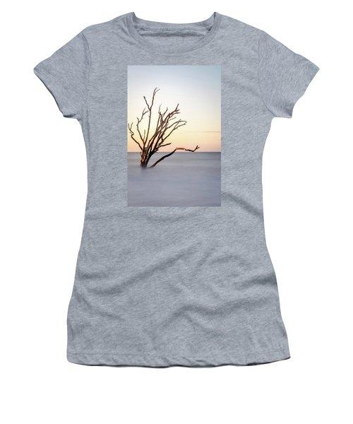 Skeleton Tree In The Ocean Women's T-Shirt (Athletic Fit)
