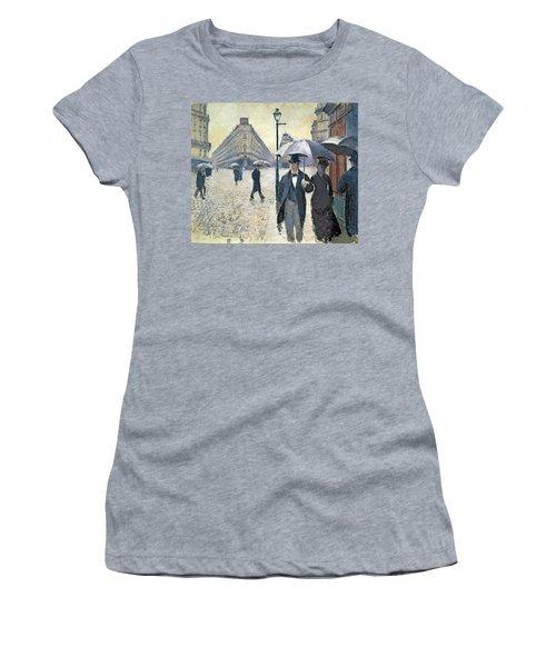 Sketch For Paris A Rainy Day Women's T-Shirt