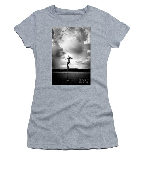 Sky Dancing Women's T-Shirt (Athletic Fit)