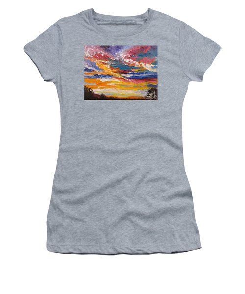 Sky In The Morning Women's T-Shirt (Athletic Fit)