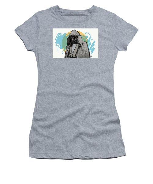 Women's T-Shirt (Athletic Fit) featuring the digital art Skywalker Returns by Antonio Romero