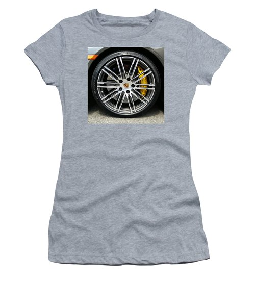 Women's T-Shirt featuring the photograph Sleek And Fast by Robert Knight