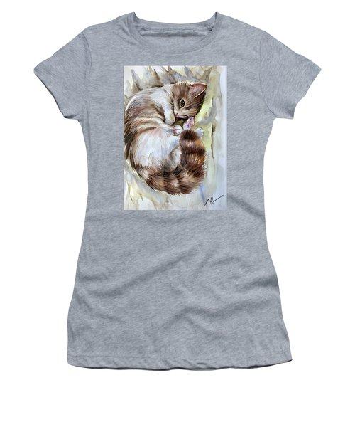Sleepy Cat 2 Women's T-Shirt