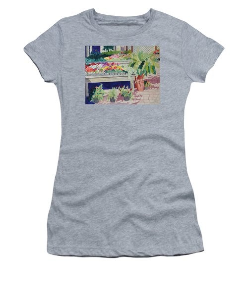 Small Garden Scene Women's T-Shirt