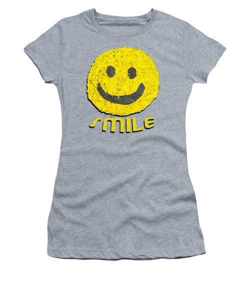 Smile Women's T-Shirt (Junior Cut) by Thomas Young