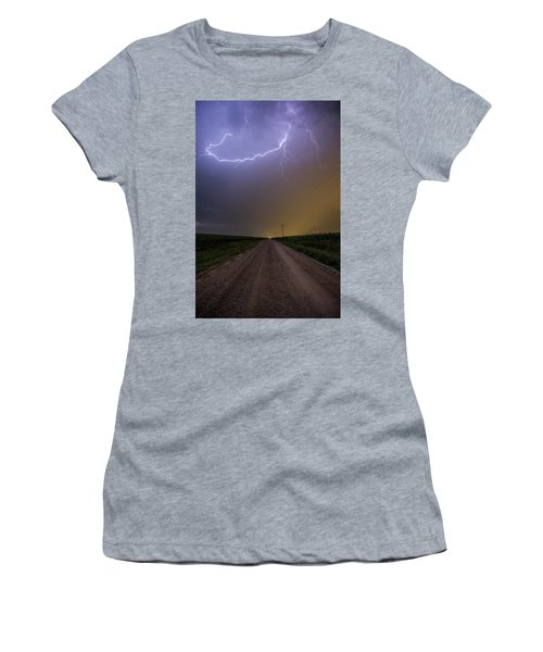 Women's T-Shirt (Athletic Fit) featuring the photograph Smiley  by Aaron J Groen