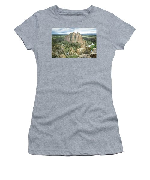 Smith Rock From Misery Ridge Women's T-Shirt