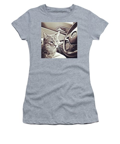 Smokey Loves The Mercedes Cla Too! Women's T-Shirt