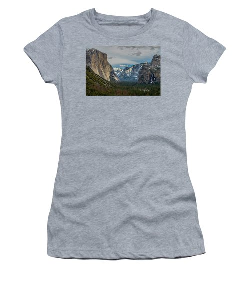 Smokey Yosemite Valley Women's T-Shirt