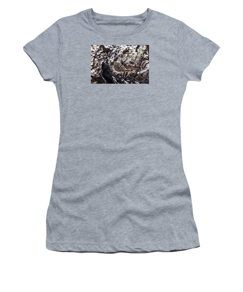 Snake In The Shadows Women's T-Shirt (Junior Cut) by Chuck Brown