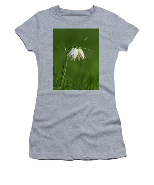 Snake's Head With Two White Bells Women's T-Shirt
