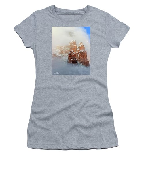 Snow 07-102 Women's T-Shirt (Junior Cut) by Scott McAllister