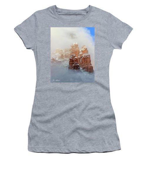 Snow 07-102 Women's T-Shirt (Athletic Fit)
