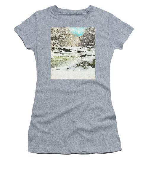 Snow On The Natchaug Women's T-Shirt (Athletic Fit)