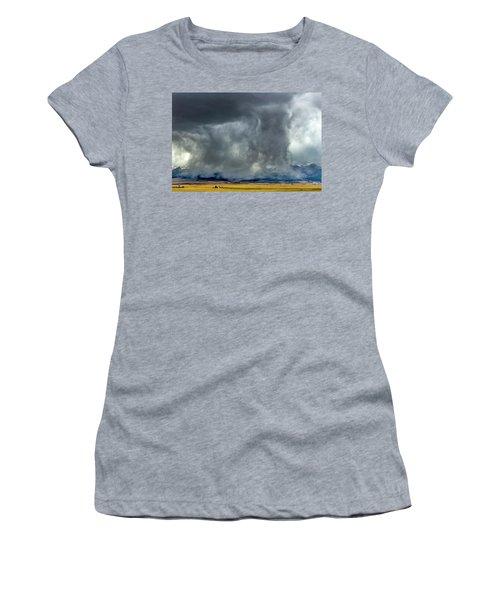 Snow On The Rockies Women's T-Shirt