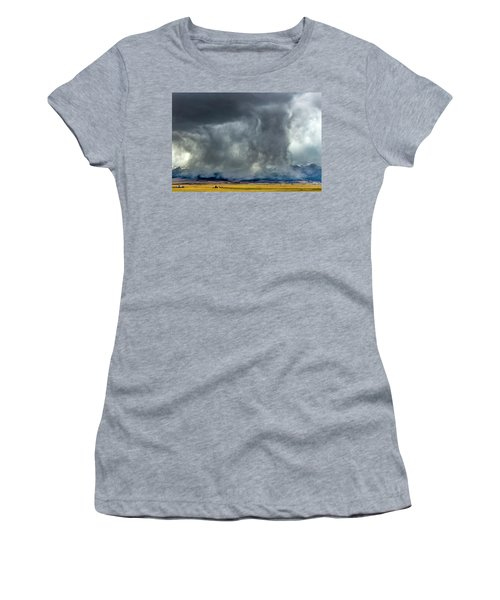 Snow On The Rockies Women's T-Shirt