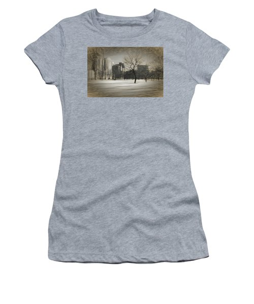 Snow Tree Women's T-Shirt (Athletic Fit)