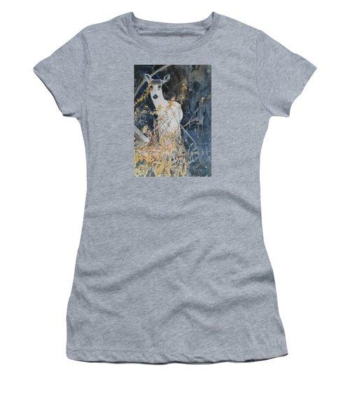 Snow White Women's T-Shirt (Junior Cut) by Christine Lathrop