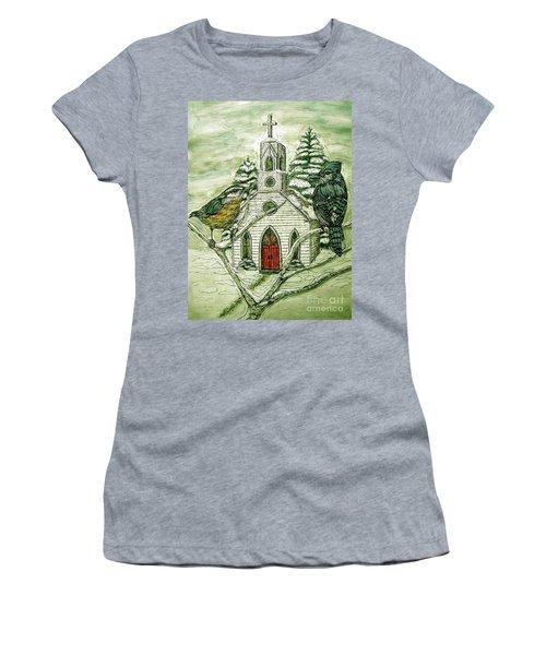 Snowbirds Visit St. Paul Women's T-Shirt (Athletic Fit)