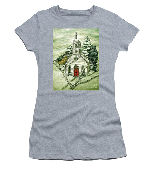 Snowbirds Visit St. Paul Women's T-Shirt