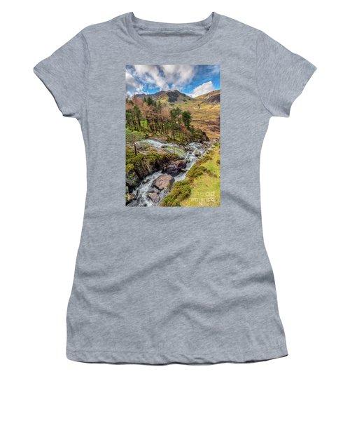 Snowdonia Landscape Winter Women's T-Shirt