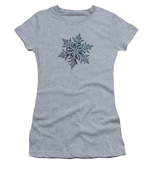 Snowflake Photo - Neon Women's T-Shirt
