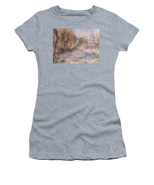 Snowy Landscape Women's T-Shirt