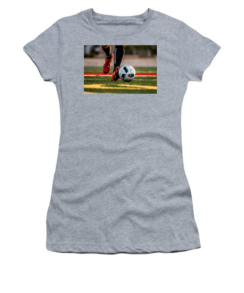 Soccer Women's T-Shirt (Athletic Fit)