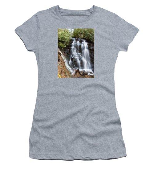 Soco Falls Women's T-Shirt (Junior Cut) by Craig T Burgwardt
