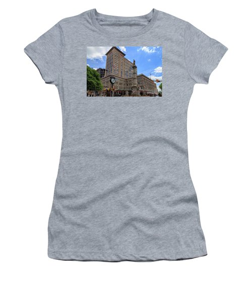 Soldiers Monument In Penn Square In Lancaster Pa Women's T-Shirt