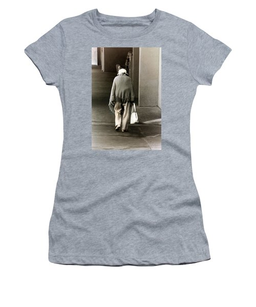 Solitary Lady Women's T-Shirt (Athletic Fit)