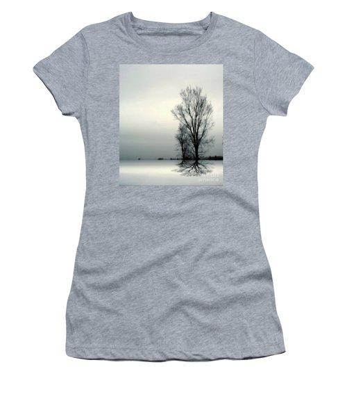 Solitude Women's T-Shirt (Junior Cut) by Elfriede Fulda