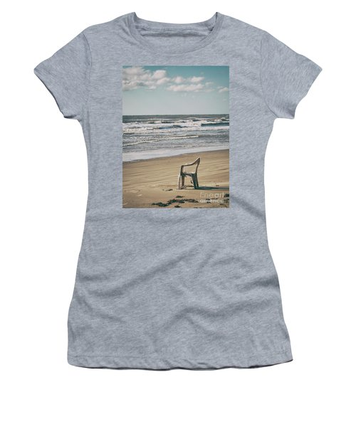 Solo On The Beach Women's T-Shirt