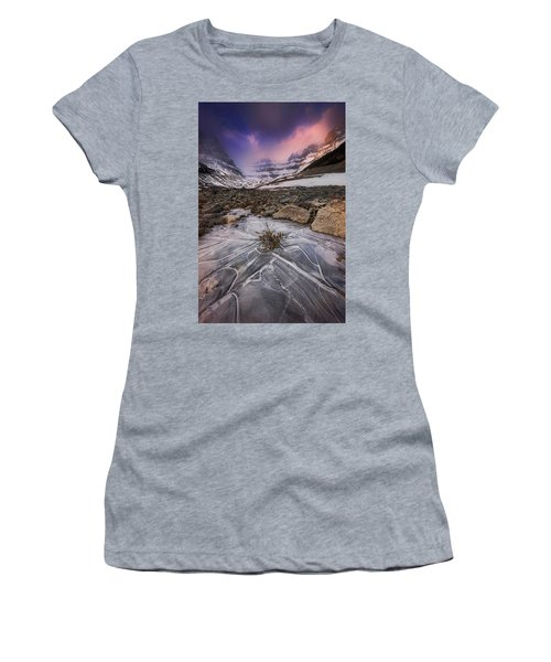Somewhere In The Canadian Rockies Women's T-Shirt