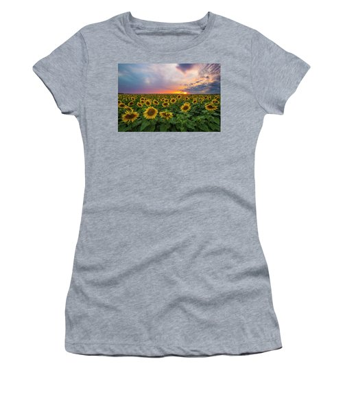 Somewhere Sunny  Women's T-Shirt (Athletic Fit)