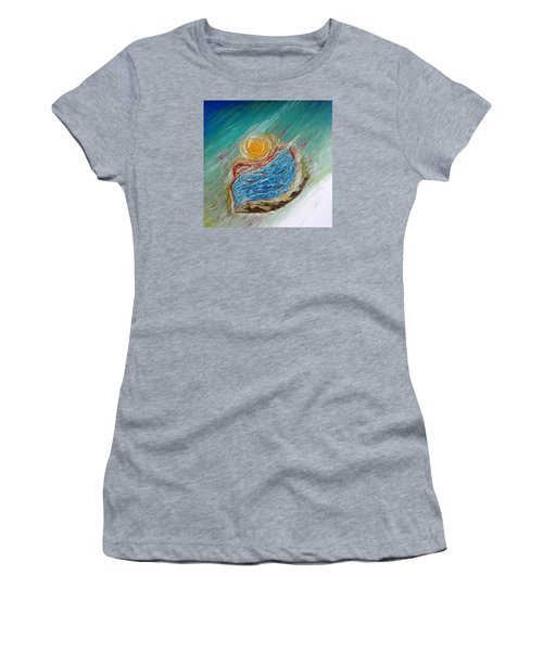 Somewhere There Is A Wonderful World ... Women's T-Shirt (Athletic Fit)