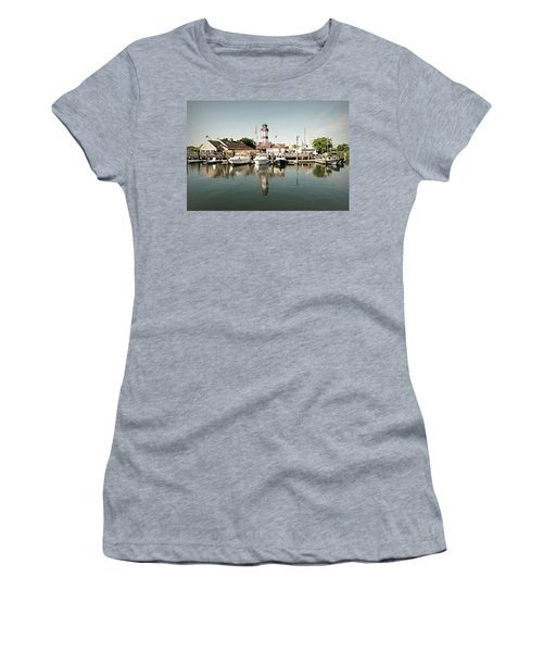 Sono Seaport Women's T-Shirt (Junior Cut) by Diana Angstadt