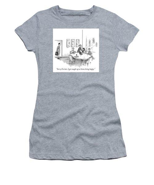 Sorry Im Late Women's T-Shirt