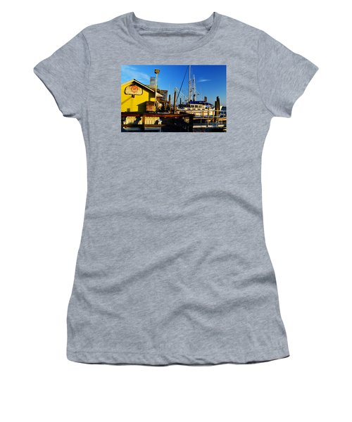 Southport Potters Seafood Pier Women's T-Shirt (Athletic Fit)